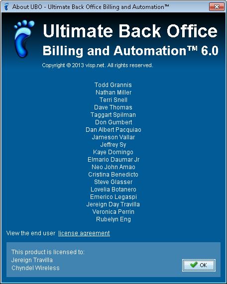 UBO Version 6 0 Release! - VISP