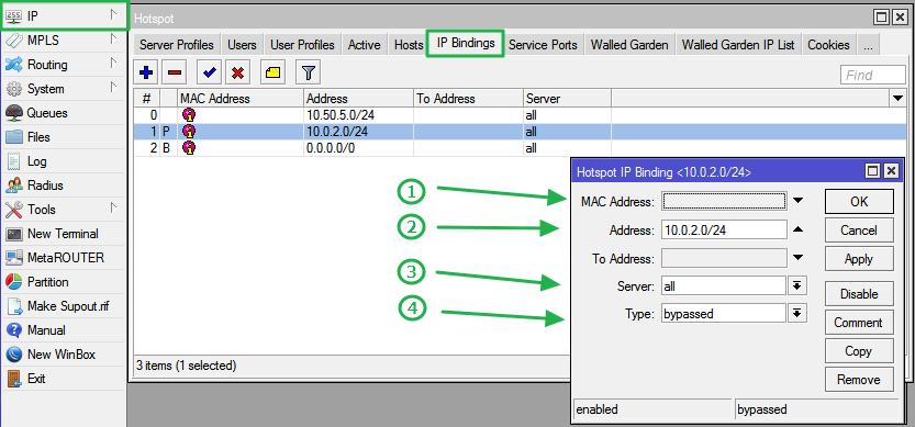 RADIUS Setup and Configuration - VISP